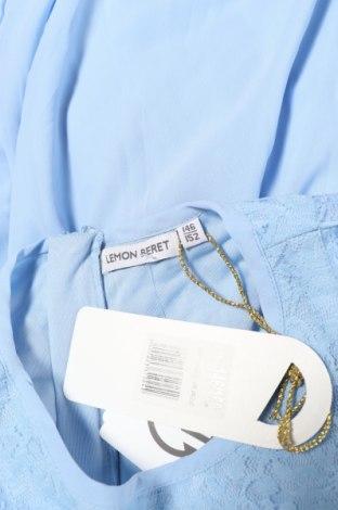 Παιδικό φόρεμα Lemon Beret, Μέγεθος 10-11y/ 146-152 εκ., Χρώμα Μπλέ, Πολυεστέρας, Τιμή 8,51€