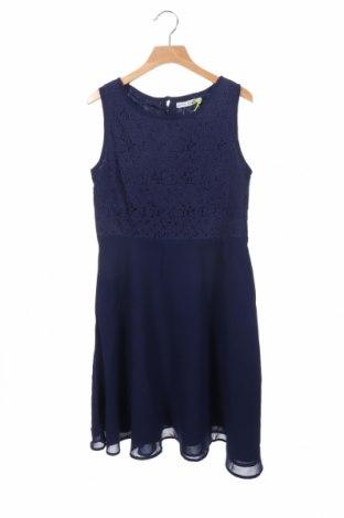 Παιδικό φόρεμα Lemon Beret, Μέγεθος 11-12y/ 152-158 εκ., Χρώμα Μπλέ, Πολυεστέρας, Τιμή 7,60€