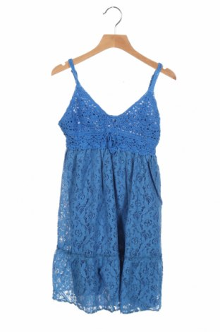 Παιδικό φόρεμα Mini Molly, Μέγεθος 7-8y/ 128-134 εκ., Χρώμα Μπλέ, 75% βαμβάκι, 22% πολυαμίδη, 3% βισκόζη, Τιμή 11,14€