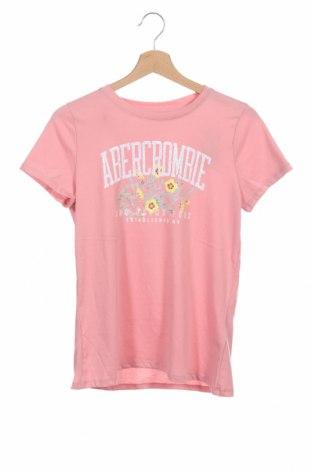 Παιδικό μπλουζάκι Abercrombie Kids, Μέγεθος 15-18y/ 170-176 εκ., Χρώμα Ρόζ , 60% βαμβάκι, 40% πολυεστέρας, Τιμή 16,73€