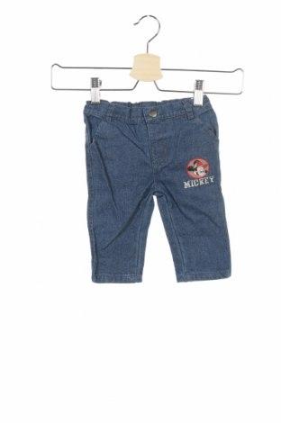 Παιδικά τζίν Disney, Μέγεθος 3-6m/ 62-68 εκ., Χρώμα Μπλέ, 74% βαμβάκι, 26% πολυεστέρας, Τιμή 8,35€