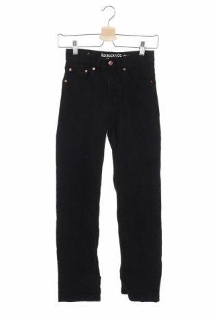 Детски дънки Roebuck & Co., Размер 11-12y/ 152-158 см, Цвят Черен, Памук, Цена 20,95лв.