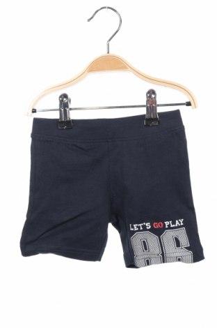 Dětské krátké kalhoty  Blue Seven, Velikost 6-9m/ 68-74 cm, Barva Modrá, Bavlna, Cena  99,00Kč