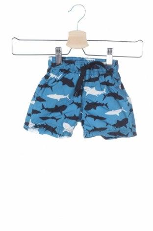 Dětské krátké kalhoty  Name It, Velikost 6-9m/ 68-74 cm, Barva Modrá, Bavlna, Cena  102,00Kč