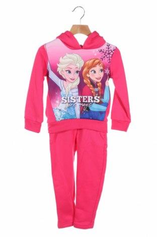 Παιδικό σύνολο Disney, Μέγεθος 4-5y/ 110-116 εκ., Χρώμα Ρόζ , Πολυεστέρας, Τιμή 17,79€