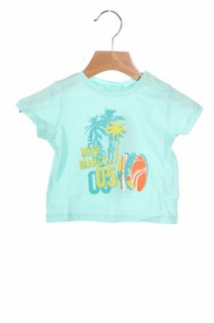 Παιδικό μπλουζάκι Mini Marcel, Μέγεθος 9-12m/ 74-80 εκ., Χρώμα Μπλέ, Βαμβάκι, Τιμή 8,22€