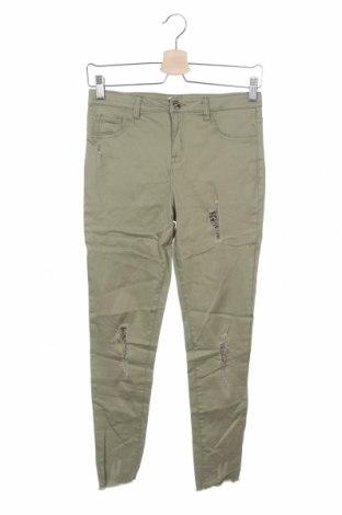Παιδικό παντελόνι Denim Co, Μέγεθος 10-11y/ 146-152 εκ., Χρώμα Πράσινο, 98% βαμβάκι, 2% ελαστάνη, Τιμή 4,42€
