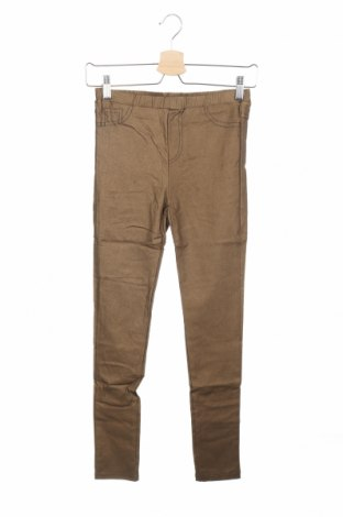 Παιδικό παντελόνι Mini Molly, Μέγεθος 13-14y/ 164-168 εκ., Χρώμα Χρυσαφί, 70% πολυεστέρας, 30% ελαστάνη, Τιμή 6,16€