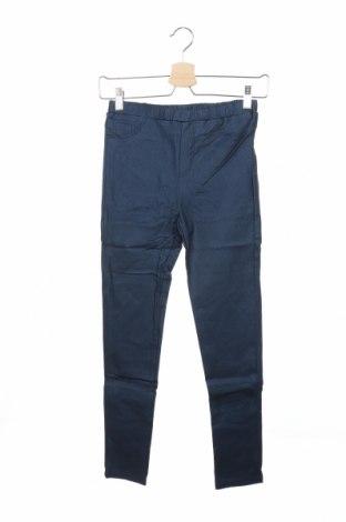 Παιδικό παντελόνι Mini Molly, Μέγεθος 13-14y/ 164-168 εκ., Χρώμα Μπλέ, 70% πολυεστέρας, 30% ελαστάνη, Τιμή 6,70€