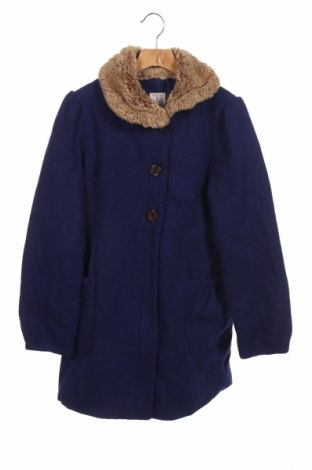 Παιδικό παλτό Land's End, Μέγεθος 13-14y/ 164-168 εκ., Χρώμα Μπλέ, 60% μαλλί, 40% πολυεστέρας, Τιμή 25,92€