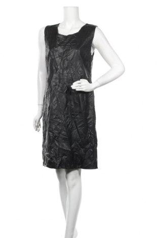 Δερμάτινο φόρεμα Soya Concept, Μέγεθος XL, Χρώμα Μαύρο, Δερματίνη, Τιμή 10,91€