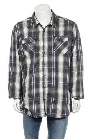 Ανδρικό πουκάμισο Gin Tonic, Μέγεθος 3XL, Χρώμα Πολύχρωμο, Βαμβάκι, Τιμή 10,49€