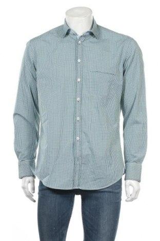 Ανδρικό πουκάμισο Milano Italy, Μέγεθος L, Χρώμα Πολύχρωμο, Βαμβάκι, Τιμή 8,77€