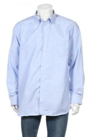 Ανδρικό πουκάμισο Walbusch, Μέγεθος XXL, Χρώμα Μπλέ, Βαμβάκι, Τιμή 11,11€