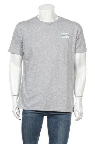 Ανδρικό t-shirt Knowledge Cotton Apparel, Μέγεθος XL, Χρώμα Γκρί, Βαμβάκι, Τιμή 30,80€