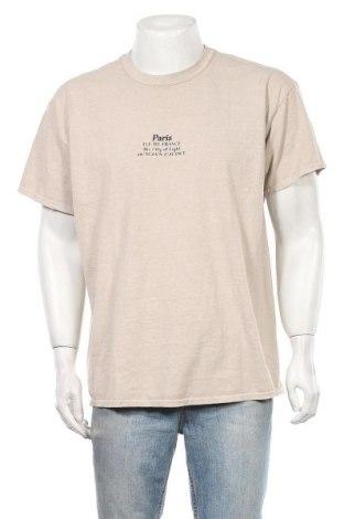 Мъжка тениска Topman, Размер M, Цвят Бежов, Цена 13,32лв.