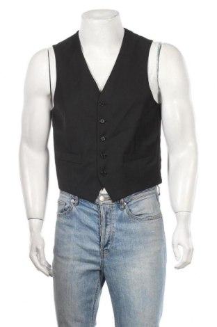 Мъжки елек Batistini, Размер M, Цвят Черен, 70% полиестер, 30% вълна, Цена 5,51лв.
