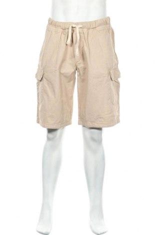 Мъжки къс панталон, Размер XL, Цвят Бежов, 100% памук, Цена 23,52лв.
