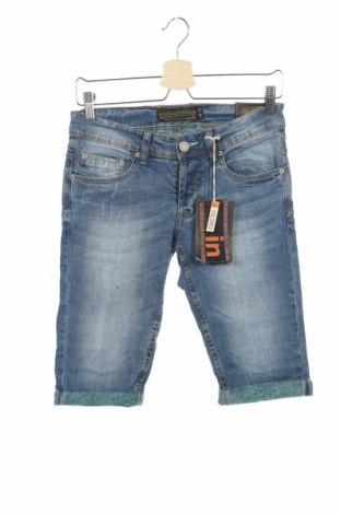 Ανδρικό κοντό παντελόνι Alcott, Μέγεθος XXS, Χρώμα Μπλέ, 99% βαμβάκι, 1% ελαστάνη, Τιμή 16,26€