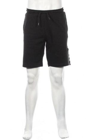 Ανδρικό κοντό παντελόνι Kappa, Μέγεθος XL, Χρώμα Μαύρο, 80% βαμβάκι, 20% πολυεστέρας, Τιμή 18,82€