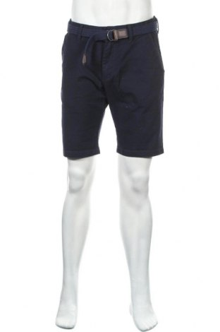 Мъжки къс панталон S.Oliver, Размер M, Цвят Син, 99% памук, 1% еластан, Цена 34,50лв.