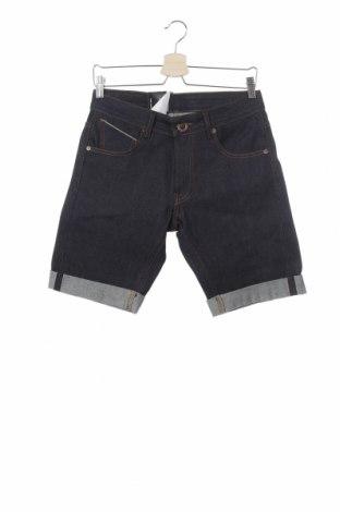 Ανδρικό κοντό παντελόνι Volcom, Μέγεθος S, Χρώμα Μπλέ, Βαμβάκι, Τιμή 38,08€
