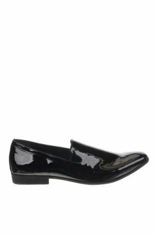 Мъжки обувки Pier One, Размер 48, Цвят Черен, Еко кожа, Цена 39,50лв.
