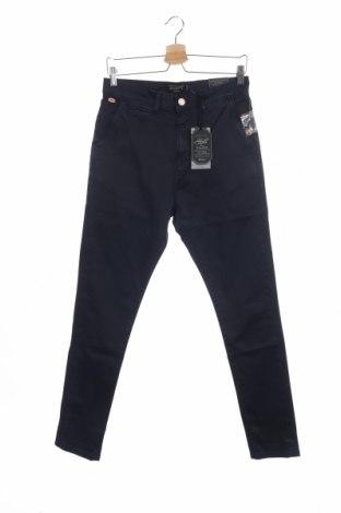 Ανδρικό παντελόνι Alcott, Μέγεθος S, Χρώμα Μπλέ, 97% βαμβάκι, 3% ελαστάνη, Τιμή 12,06€