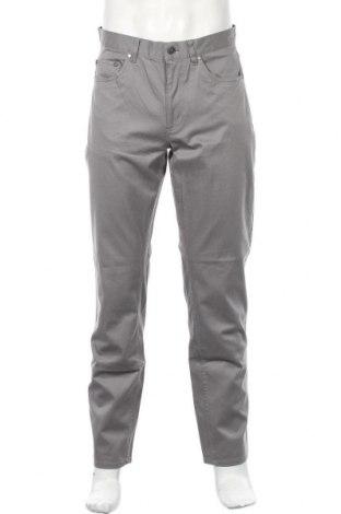 Мъжки панталон Brooks Brothers, Размер L, Цвят Сив, 98% памук, 2% еластан, Цена 41,72лв.