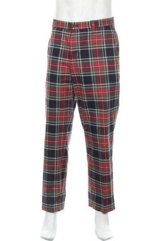 Мъжки панталон Brooks Brothers, Размер L, Цвят Многоцветен, 100% памук, Цена 21,26лв.