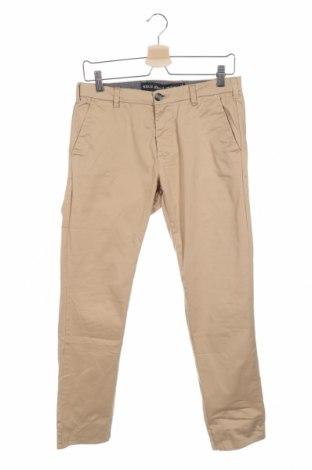 Мъжки панталон Denim&Co., Размер M, Цвят Бежов, 98% памук, 2% еластан, Цена 6,83лв.