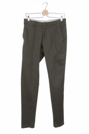 Ανδρικό παντελόνι Guess By Marciano, Μέγεθος S, Χρώμα Πράσινο, 98% βαμβάκι, 2% ελαστάνη, Τιμή 11,80€