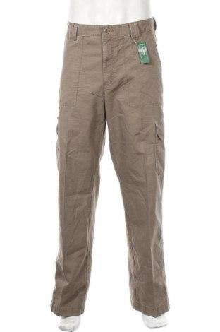 Мъжки панталон L.L. Bean, Размер L, Цвят Бежов, Памук, Цена 27,14лв.