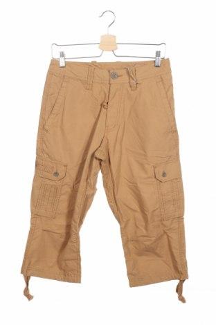 Мъжки панталон Schott, Размер XS, Цвят Бежов, 65% памук, 35% полиамид, Цена 10,93лв.