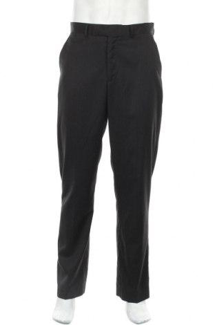 Мъжки панталон Sears, Размер M, Цвят Черен, 70% полиестер, 30% вискоза, Цена 9,11лв.