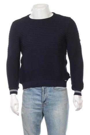 Мъжки пуловер Sir Raymond Tailor, Размер M, Цвят Син, Памук, Цена 21,87лв.