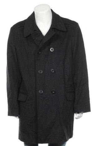 Мъжко палто Alfani, Размер M, Цвят Черен, 95% вълна, 5% кашмир, Цена 34,44лв.