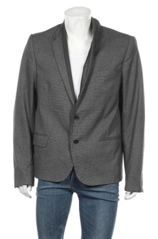 Ανδρικό σακάκι Just Cavalli, Μέγεθος XL, Χρώμα Γκρί, 64% πολυεστέρας, 34% βισκόζη, 2% ελαστάνη, Τιμή 69,56€