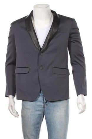 Ανδρικό σακάκι Marciano, Μέγεθος M, Χρώμα Μπλέ, 54% πολυεστέρας, 42% βαμβάκι, 4% ελαστάνη, Τιμή 76,94€