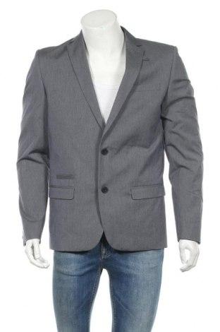 Мъжко сако Minimum, Размер L, Цвят Син, 65% памук, 32% полиестер, 3% еластан, Цена 39,11лв.