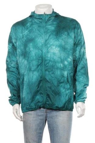 Ανδρικό αθλητικό μπουφάν Adidas, Μέγεθος L, Χρώμα Πράσινο, Πολυεστέρας, Τιμή 25,92€