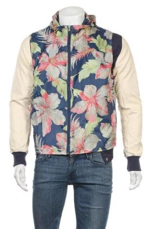 Ανδρικό μπουφάν Alcott, Μέγεθος S, Χρώμα Μπλέ, Βαμβάκι, δερματίνη, βισκόζη, Τιμή 16,01€
