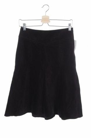 Пола H&M, Размер XS, Цвят Черен, 98% памук, 2% еластан, Цена 3,61лв.