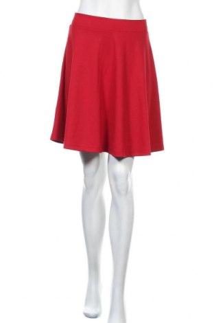 Φούστα Soya Concept, Μέγεθος S, Χρώμα Κόκκινο, 71% πολυεστέρας, 25% βισκόζη, 4% ελαστάνη, Τιμή 7,80€