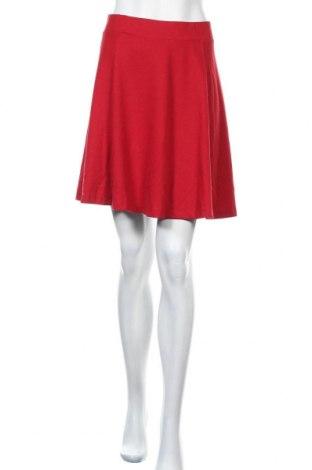 Φούστα Soya Concept, Μέγεθος L, Χρώμα Κόκκινο, 79% πολυεστέρας, 18% βισκόζη, 3% ελαστάνη, Τιμή 20,10€
