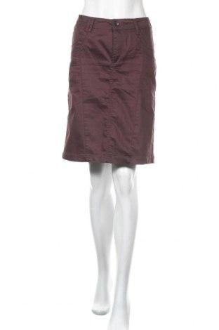 Φούστα Soya Concept, Μέγεθος L, Χρώμα Βιολετί, 64% βαμβάκι, 32% πολυεστέρας, 4% ελαστάνη, Τιμή 11,43€