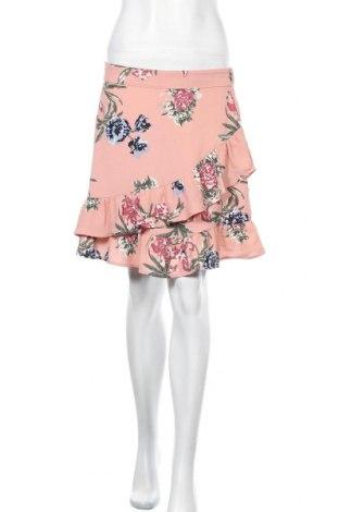 Пола Vero Moda, Размер S, Цвят Розов, 97% полиестер, 3% еластан, Цена 36,00лв.