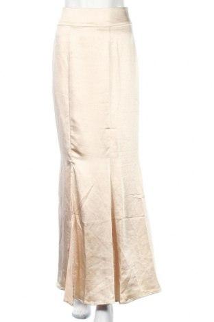 Φούστα Y.A.S, Μέγεθος M, Χρώμα  Μπέζ, Πολυεστέρας, Τιμή 4,38€