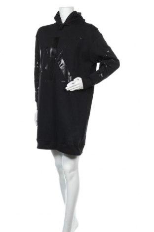 Рокля Calvin Klein Jeans, Размер M, Цвят Черен, 70% памук, 30% полиестер, Цена 134,25лв.