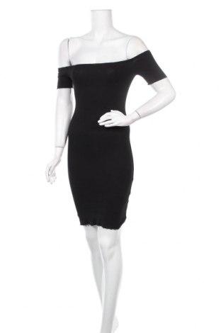 Рокля Even&Odd, Размер XS, Цвят Черен, 95% памук, 5% еластан, Цена 23,00лв.